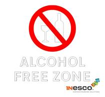 Alcohol Free Zone Symbol