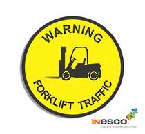 MightyLine Floor Sign - Forklift Warning