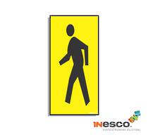 MightyLine Floor Sign - Man Walking